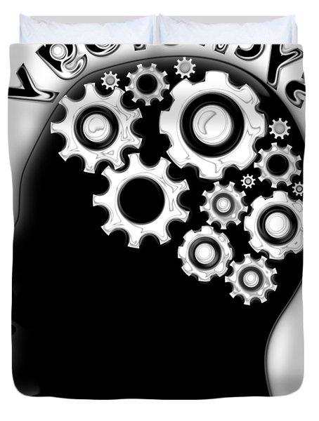 Reverse Psychology Duvet Cover