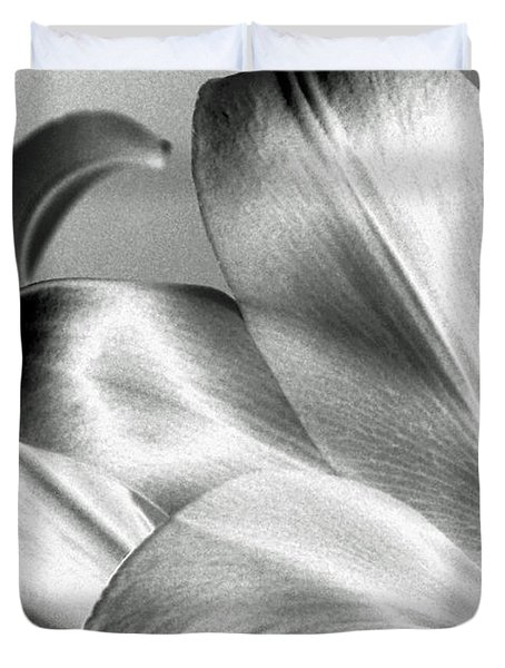 Duvet Cover featuring the photograph Reverse by Steven Huszar