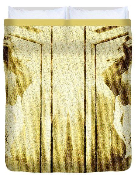 Reversed Mirror Duvet Cover