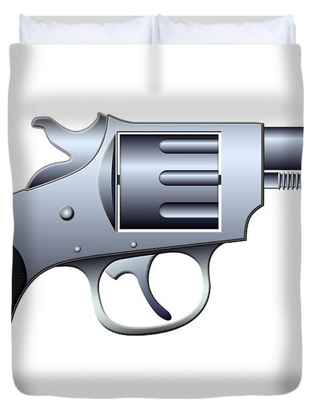 Revolver Duvet Cover by Michal Boubin