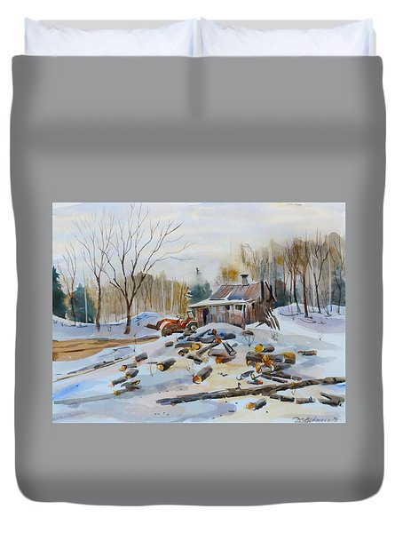 Reynold's Sugar Shack Duvet Cover