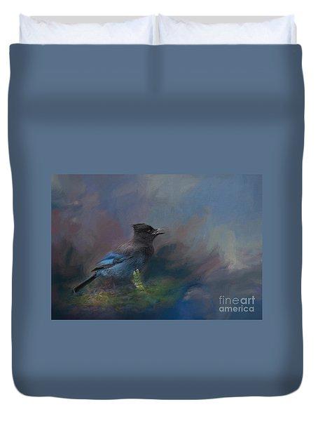 Rhapsody In Blue Duvet Cover
