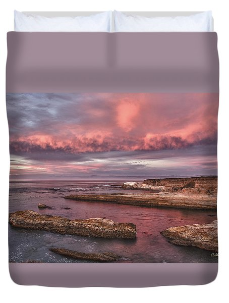 Rhapsody In Pink Duvet Cover