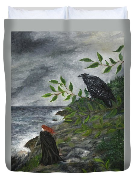 Rhinne And Nightshade Duvet Cover