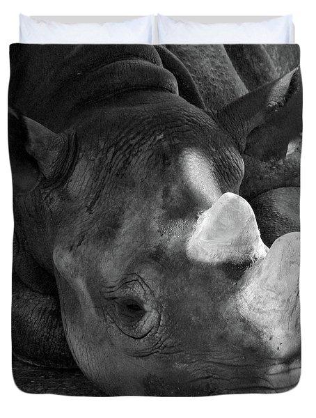 Rhino Nap Duvet Cover
