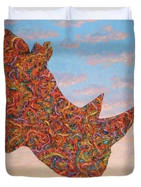 Rhino-shape Duvet Cover