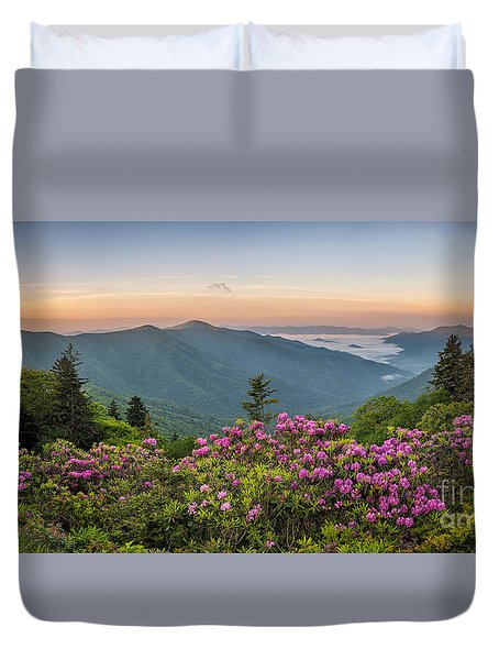 Rhodo Bend Duvet Cover