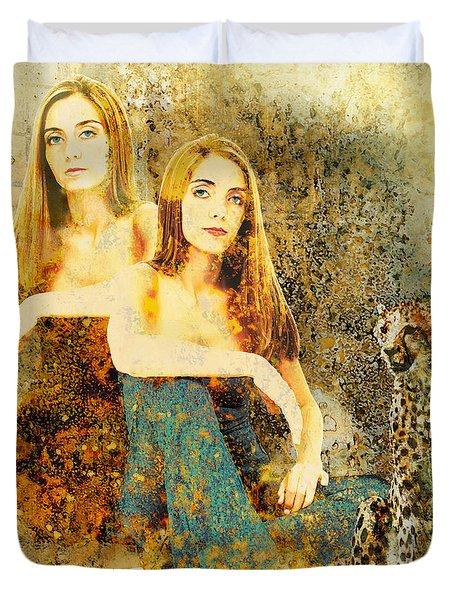 Rhyme Duvet Cover by Van Renselar