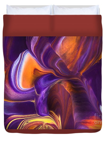 Rhythm Of My Heart Duvet Cover