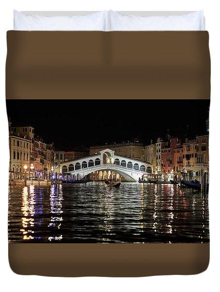 Rialto Night - 4284 Duvet Cover