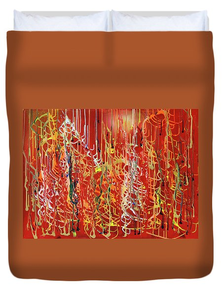 Rib Cage Duvet Cover by Ralph White