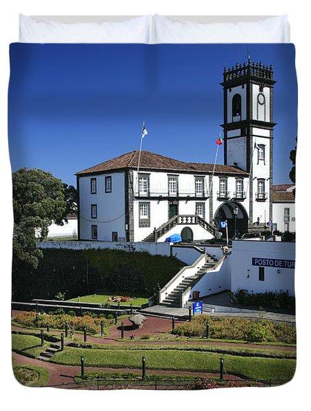 Ribeira Grande Azores Duvet Cover by Gaspar Avila