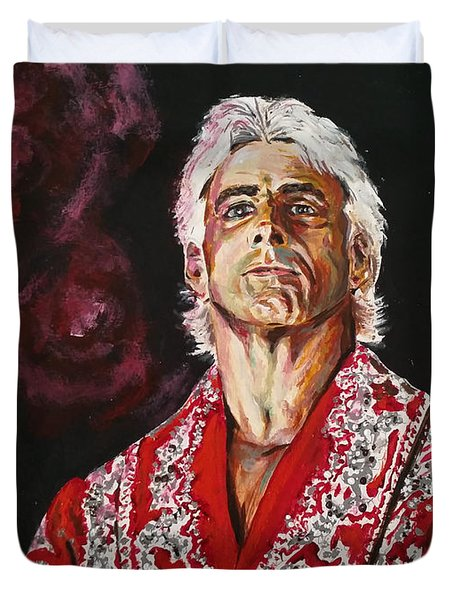 Ric Flair Duvet Cover