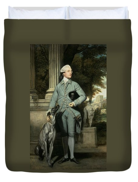 Richard Peers Symons Duvet Cover