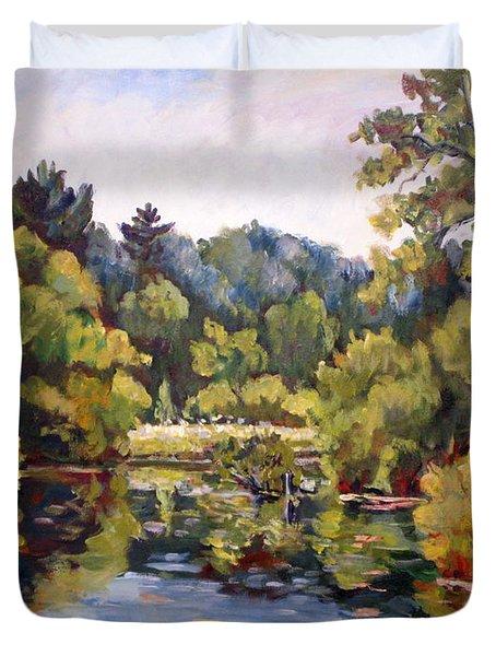 Richard's Pond Duvet Cover