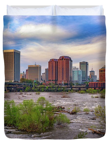 Richmond Skyline Duvet Cover