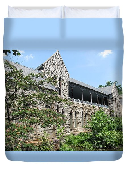Richmond Virginia Pump House Duvet Cover