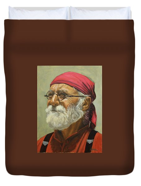 Rickabod At High Noon Duvet Cover