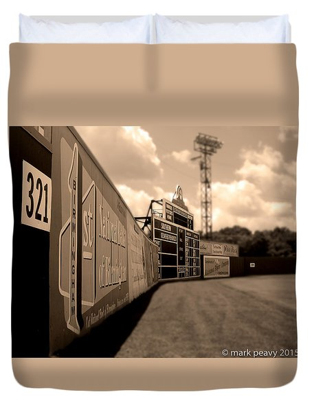 Rickwood Field Fence Duvet Cover