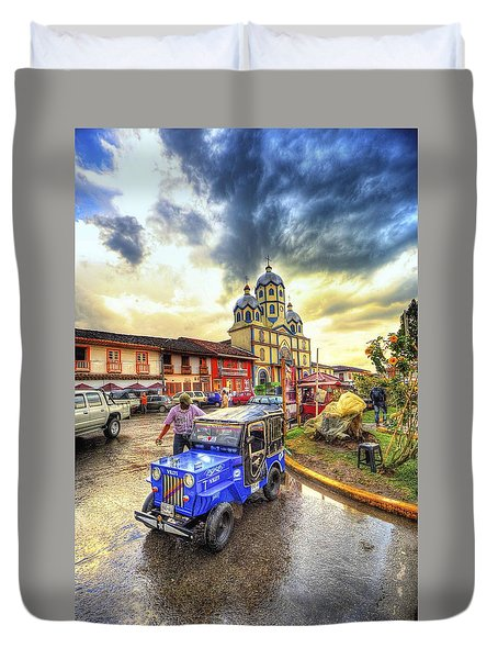 La Plaza Duvet Cover