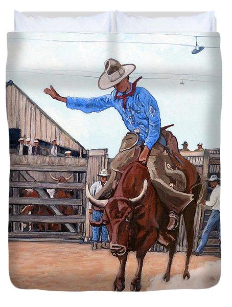 Ride 'em Cowboy Duvet Cover