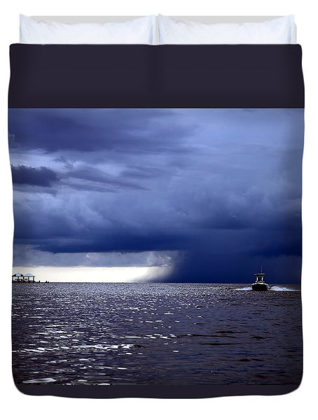 Riders On The Storm Duvet Cover