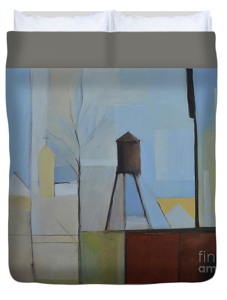 Ridgefield Duvet Cover by Ron Erickson