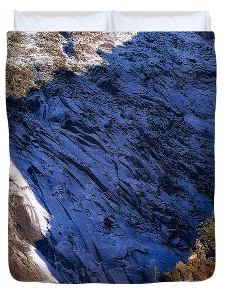 Ridgeline Shadows Duvet Cover