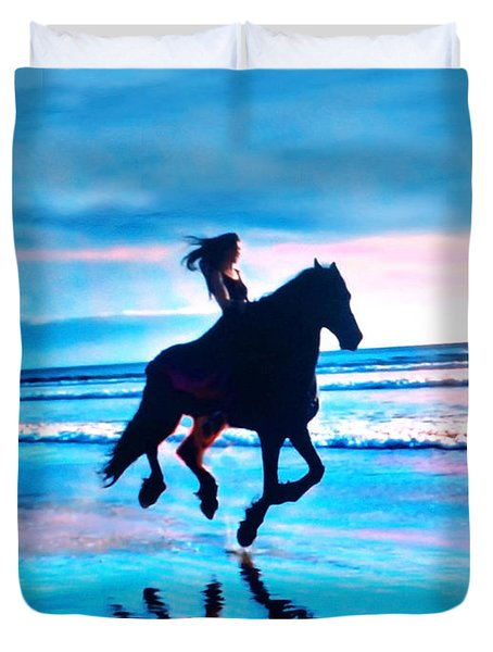 Riding Free Duvet Cover