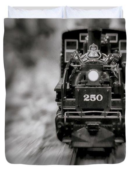 Riding The Railways Duvet Cover