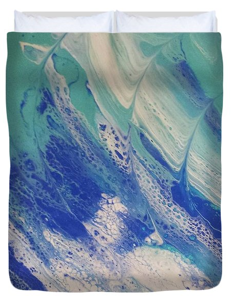 Riding The Wave Duvet Cover