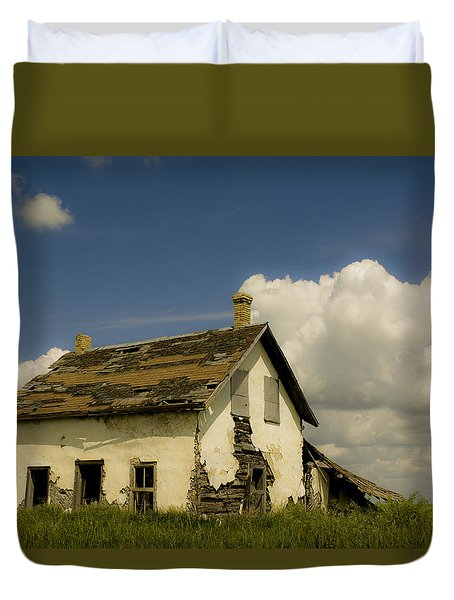 Riel Rebellion Period Farm House Duvet Cover