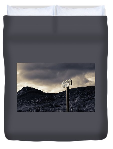 Right Of Way To Laggan Duvet Cover