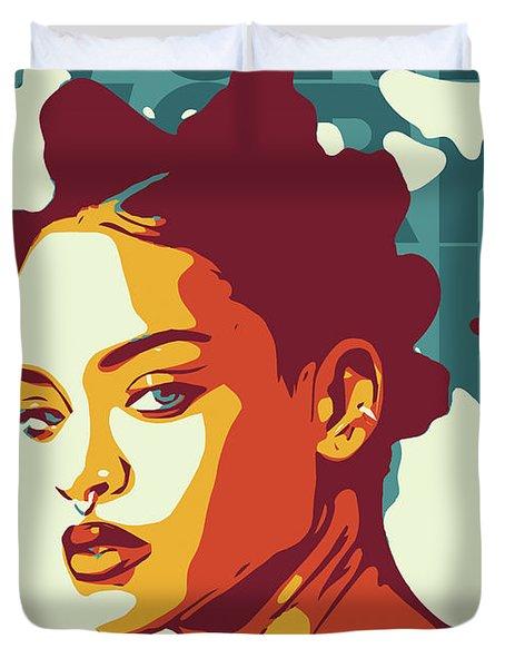 Rihanna Duvet Cover
