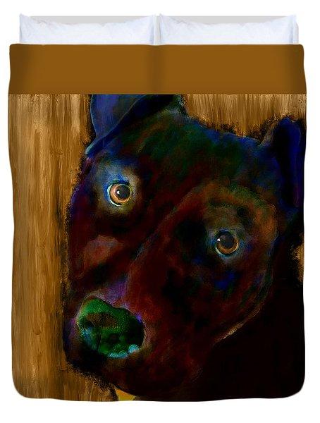 Rillo In Watercolor Duvet Cover
