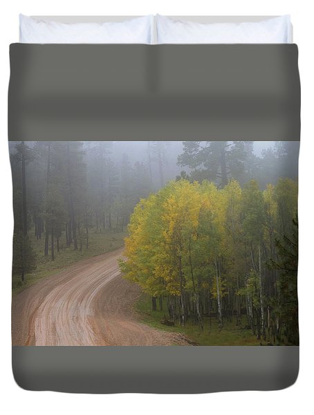 Rim Road Duvet Cover