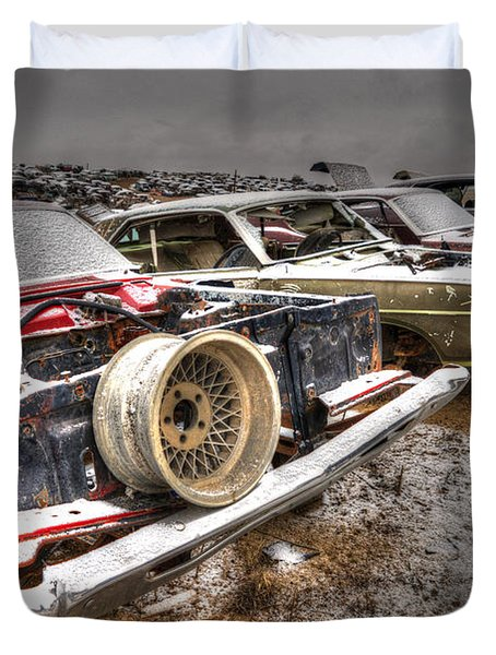 Rim Shot Duvet Cover