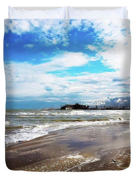 Rimini After The Storm Duvet Cover