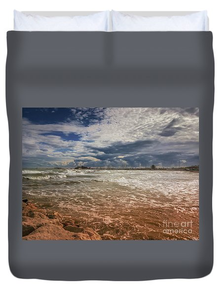 Rimini Storm Duvet Cover