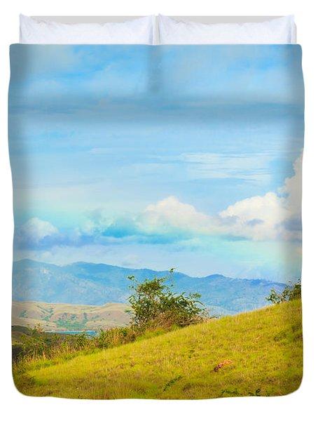 Rinca Island. Duvet Cover by MotHaiBaPhoto Prints