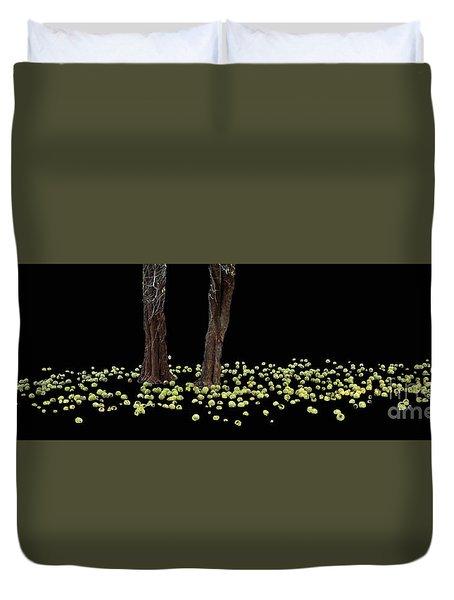 Ring Of Green  Duvet Cover