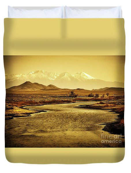 Rio Grande Colorado Duvet Cover