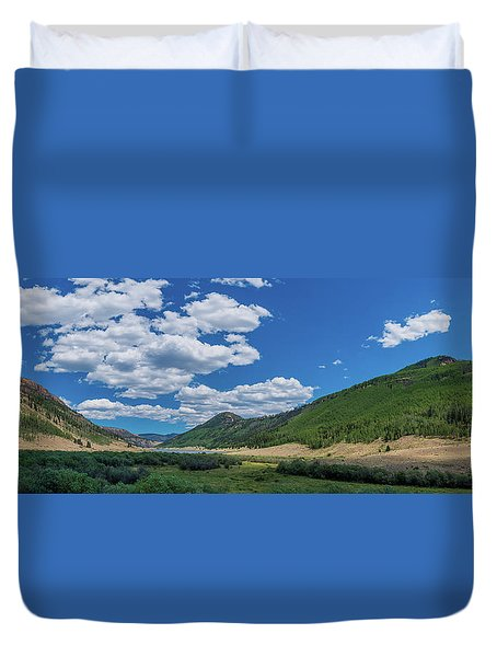 Rio Grande Headwaters #3 Duvet Cover