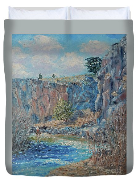 Rio Hondo Duvet Cover