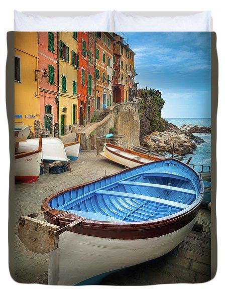 Rio Maggiore Boat Duvet Cover