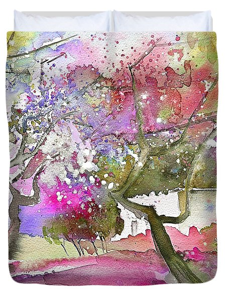 Rioja Spain 02 Duvet Cover by Miki De Goodaboom