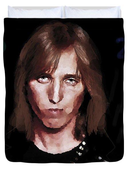 Rip Tom Petty 1950 2017 Duvet Cover