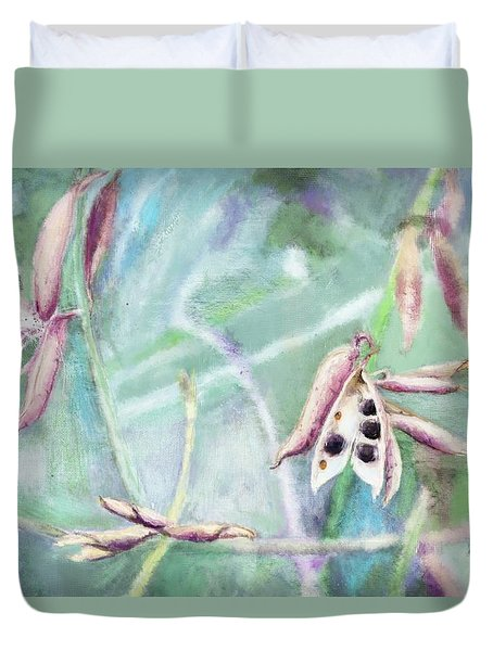 Ripe Seeds Duvet Cover