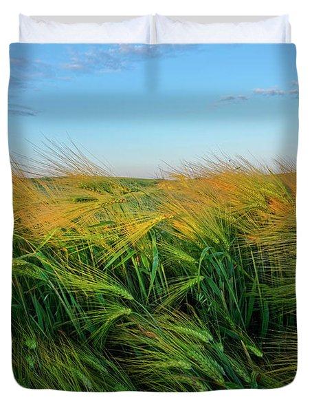 Ripening Barley Duvet Cover