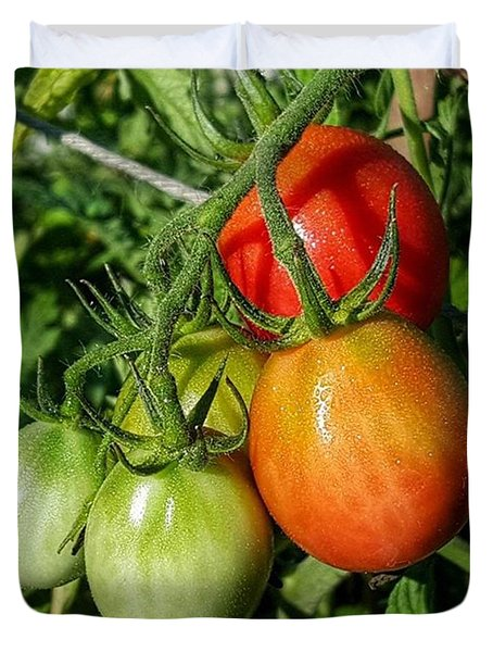 ripening #photography #garden Duvet Cover